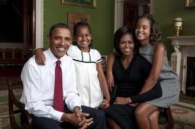 famiglia presidente obama usa